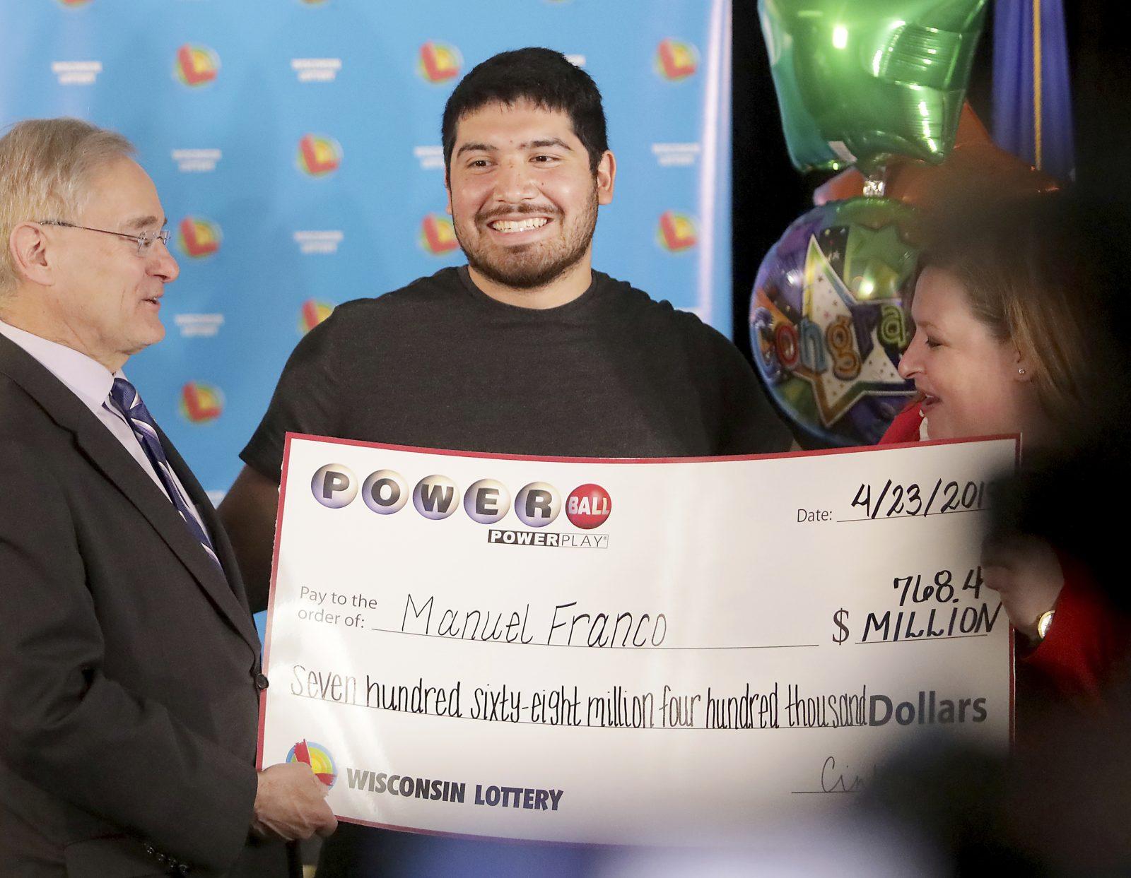 Ganador Powerball Manuel Franco